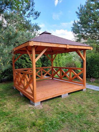 Altana altanka ogrodowa drewniana RYGA 3x3