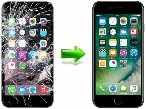 Замена стекла сенсора экрана  iphone meizu hiaomi huawei samsung и тд