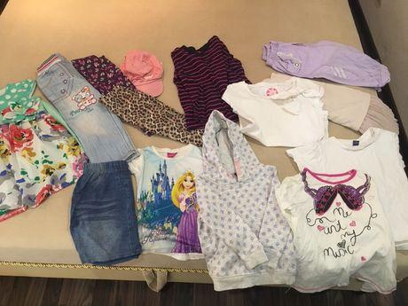 Пакет весенне летних вещей на девочку 3-4 лет