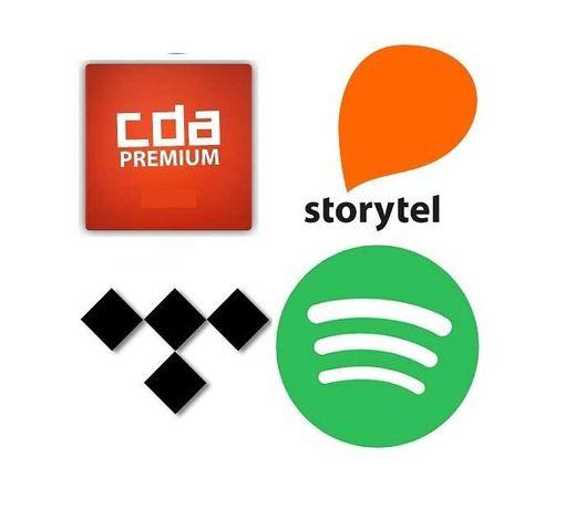 Spotify - Tidal Wieża Denon itd Netflix4K HBO CDA Storytel Ipla