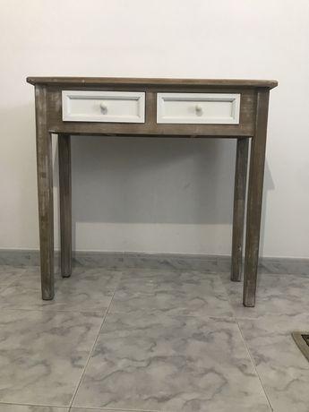 Consola/ Secretaria madeira Semi-Nova