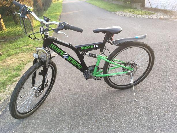 Rower XROCK 1.6 junior dla chlopca. Jak nowy