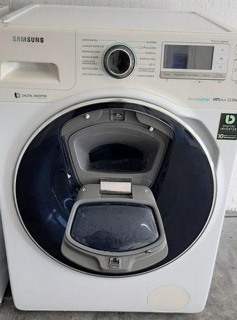 Máquina de lavar roupa Samsung ecobubble 12kg