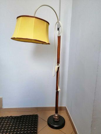2 x Lampa stojąca PRL abażur