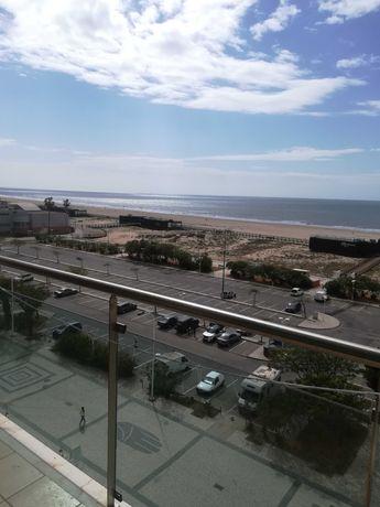T1 com excelente vista mar, estacionamento e Wi-Fi