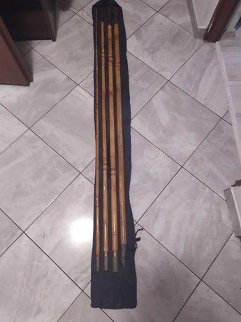 Wędka bambusowa.