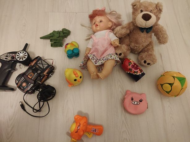 Zestaw zabawek chłopiec/dziewczynka