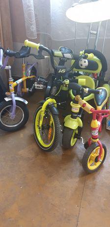 4x rowerki dla dzieci