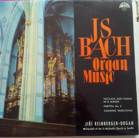 И.С.Бах Organ Music