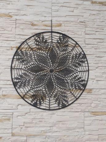 Mandala/łapacz snów - średnica 40 cm