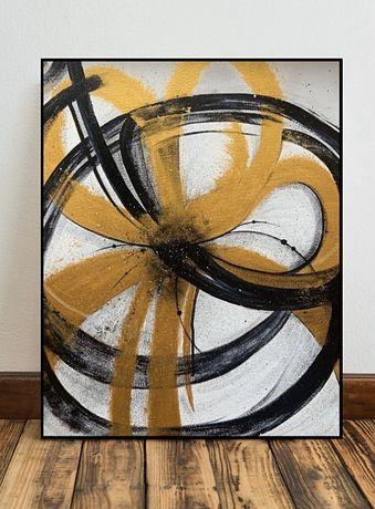 Картина акрилом «Цветение», 40*50см