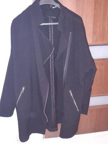 Płaszcz czarny wiosna H&M