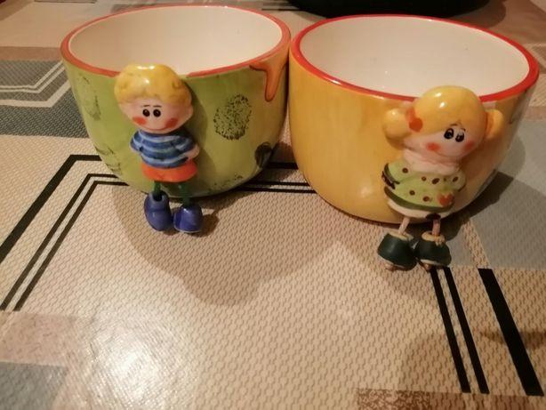 Веселые чашки мужская и женская