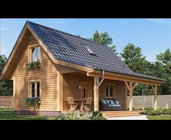 Domki na zgłoszenie, domy drewniane, z bali, tarasy, altany, sauny