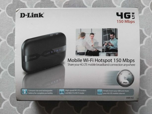 Nowy D-LINK DWR-932 4G LTE mobile router