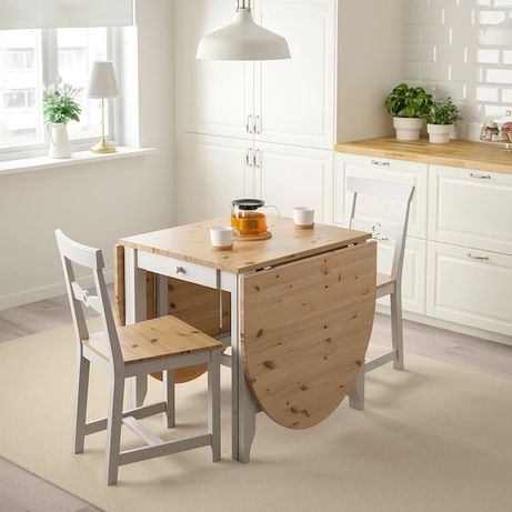 Stół + 2 krzesła gratis Ikea GAMLEBY