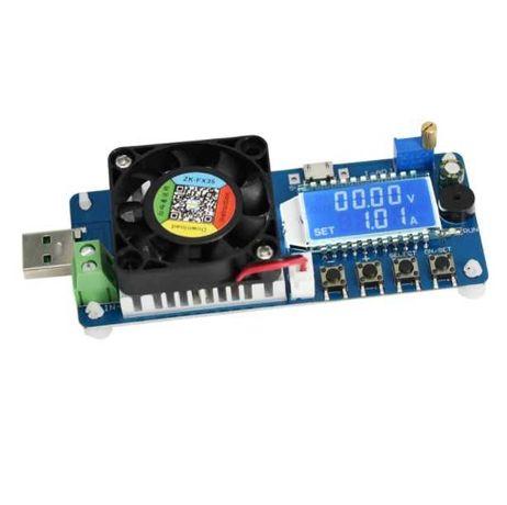 Нагрузка-тестер USB нагрузка, нагрузочный резистор 4а/25w
