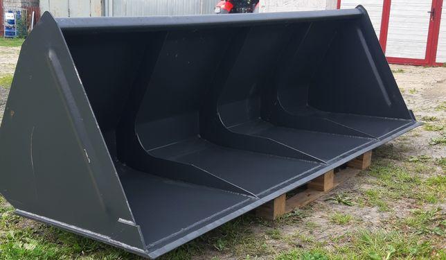Łyżka do tura 2.4m euro ramka szufla do materiałów Metal Technik