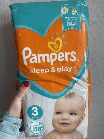 Памперси Pampers Sleep & Pllay 3