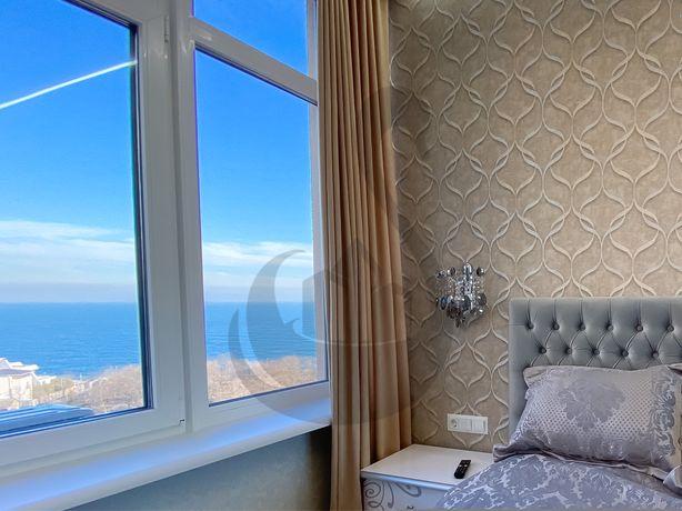 45(44,27)жемчужина.ТЕРРАСА.Вид на море.Аркадия.Балкон.Каманина.На год