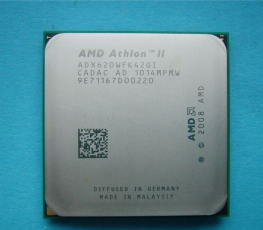 AMD Athlon II X4 620 2600mhz S.AM2+/AM3 Процессор +паста