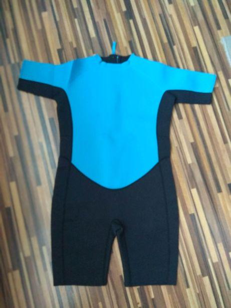 Pianka neoprenowa krótka dziecięca windsurfing pływanie Tchibo 158 164