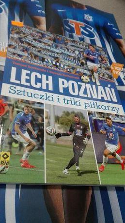 książka sztuczki i triki piłkarzy Lech Poznań