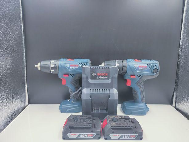 Zestaw 2*wiertarko wkrętarka 2*bateria + Ładowarka Bosch Profesjonaln.