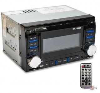Автомагнітола 2 din - магнітола Mosfet MP3-9902 (USB + SD Card)