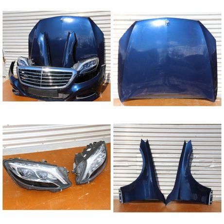 Mercedes-Benz S-klasse W222 Капот дверь бампер крышка багажника фары