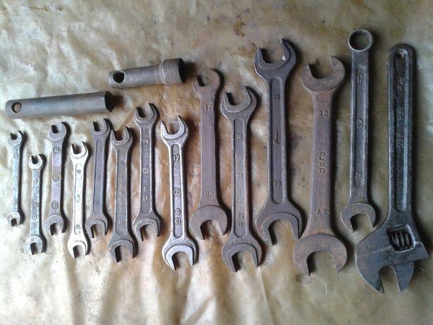 инструмент ссср гаечный ключ