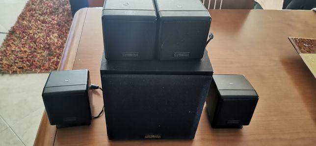 Sistema de som para computador