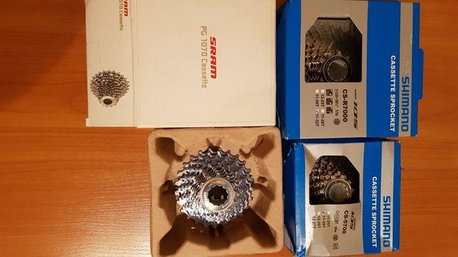 Переключатели/цепи/кассеты/педали Shimano 10/11/12 скоростей