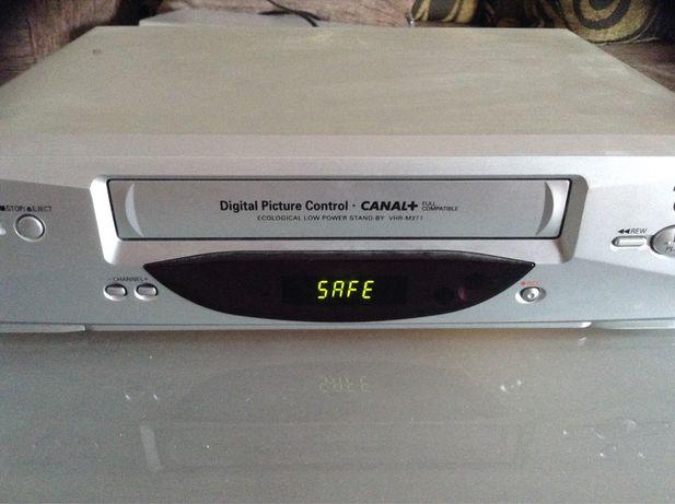 Sanyo leitor de cassetes VHS