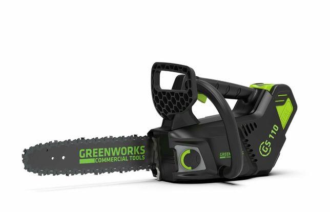 Motosserra podadora a Bateria Greenwarks - Campanha