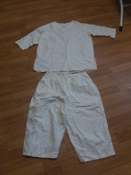 Спец одежда белого цвета для повара пекаря