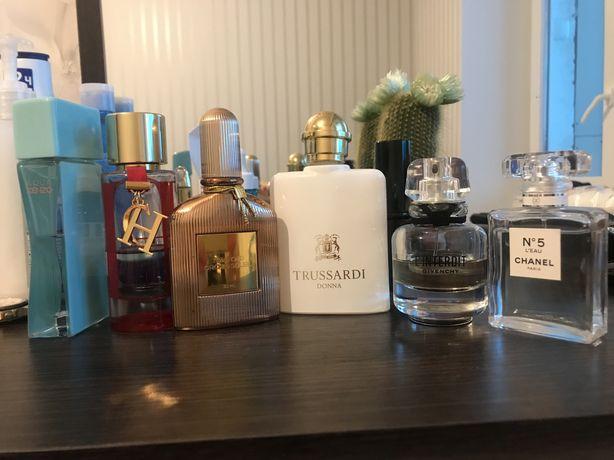 Chanel,kenzo,Givenchy,Tom ford,Trussardi