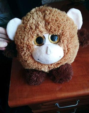 Большая игрушка глазастик обезьянка