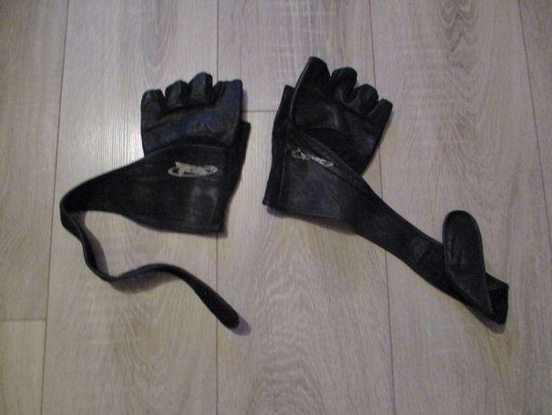 rękawice skóra bezpalcowe