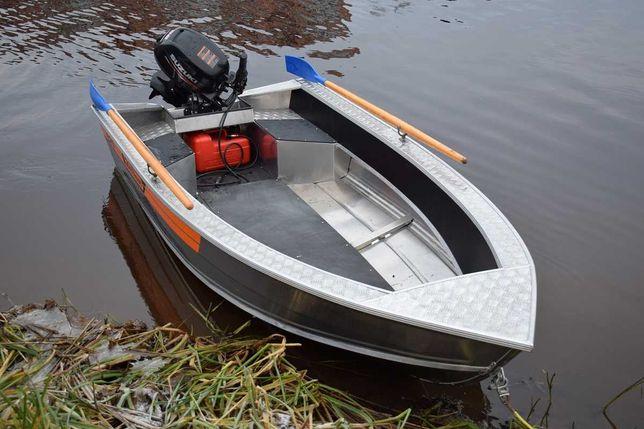 Алюминиевая лодка Wellboat-37 easy (Вельбот-37 easy)