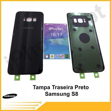 Tampa Vidro Traseira Samsung S8 / S8 Plus NOVO