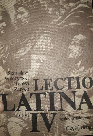 Lectio latina jezyk łaciński dla klasy IV część 2