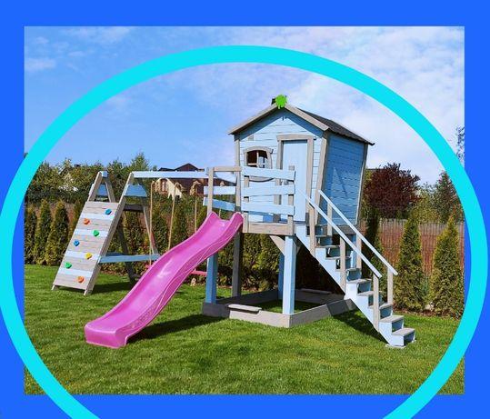 Bajkowy, kolorowy domek dla dzieci! Plac zabaw