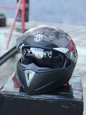 Мото шлем с очками FXW-158 модуляр очки мотошлем шлем мото