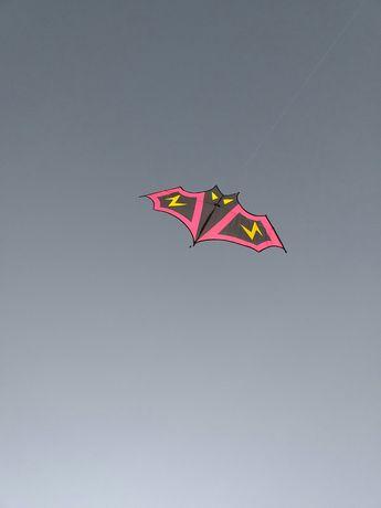 Змей воздушный Летучая мышь Бэтмэн черный 4 расцветки