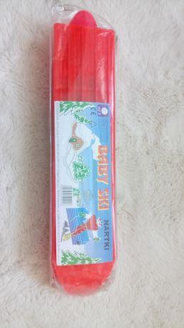 Baby ski nartki małe narty dla dziecka 37cm