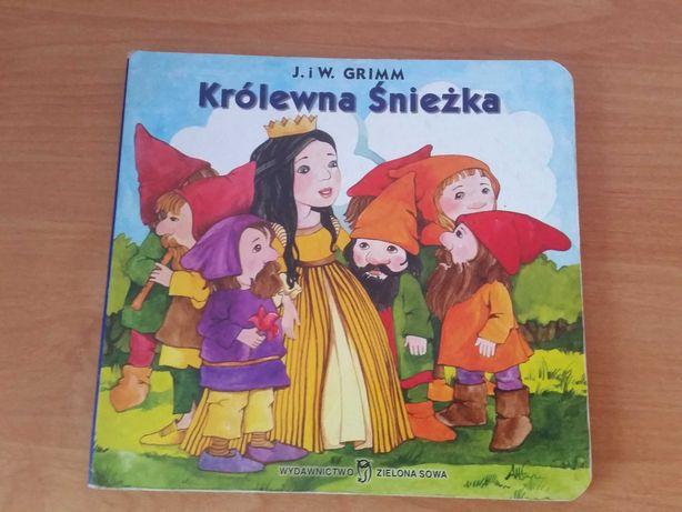 Królewna Śnieżka Grimm książeczka dla dzieci