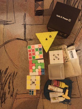 Кубики рубика много