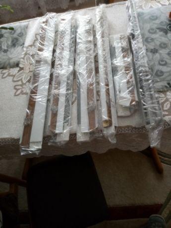 Rolety aluminiowe 6 sztuk