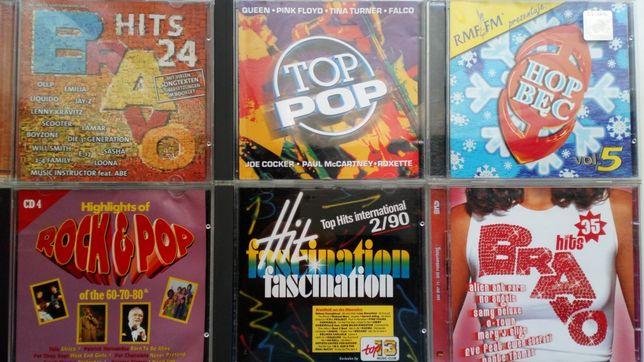Zestaw Płyt CD - Muzyka na Imprezy - POP - DISCO - Taneczna